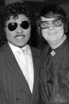 Met Little Richard